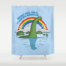 The Lochness Connection Shower Curtain