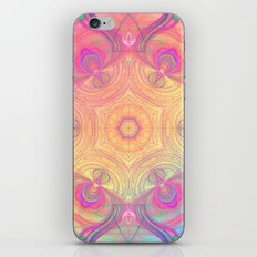 Psychedelic Kaleidoscope iPhone & iPod Skin