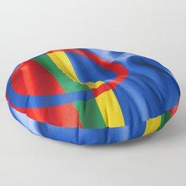 Sami Flag Floor Pillow