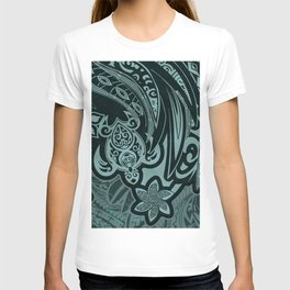 Hawaiian - Samoan - Polynesian Slate Tribal Threads T-shirt