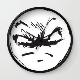 face of weird Wall Clock