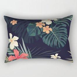 Dark tropical Rectangular Pillow