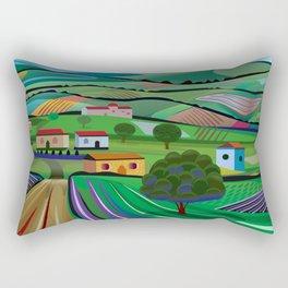 Santa Barbara Farms Rectangular Pillow