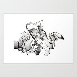 #20 – astratto Art Print