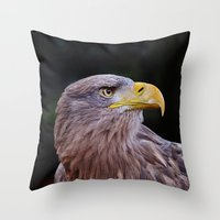 predator Throw Pillows featuring Predator by DistinctyDesign