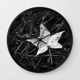 Autumn Contrast Wall Clock