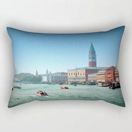 Approaching St Marks Square, Venice, Italy Rectangular Pillow