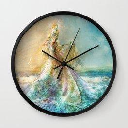 Shell Maiden Wall Clock
