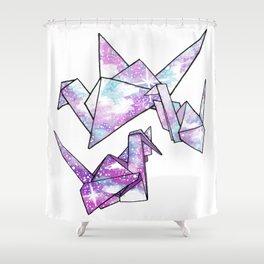 Origami Cranes Shower Curtain