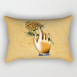 Flor de cempazuchitl Rectangular Pillow