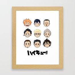 Haikyuu!! Framed Art Print