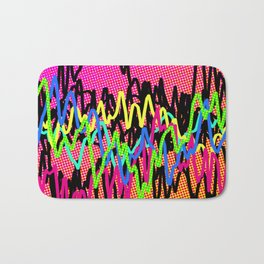 waves - ! Bath Mat