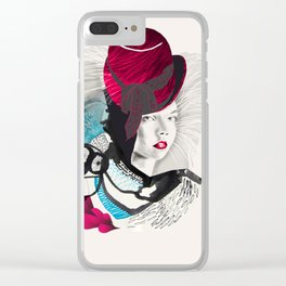 jokergirl Clear iPhone Case