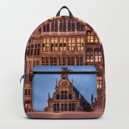 Historically Charged Grand Place Brussel Belgium Europe Ultra HD Backpack