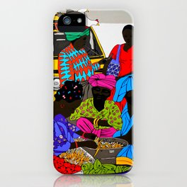 african market 1 iPhone Case