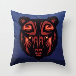 """""""Mathuin in Vector"""" by Paper Laine Throw Pillow"""