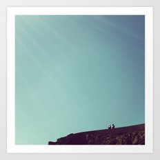 ruminations at the edge of the world Art Print