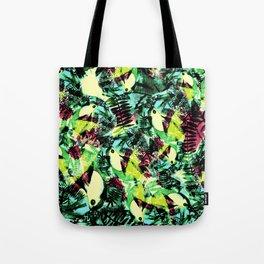 Tossed Toucan  Tote Bag