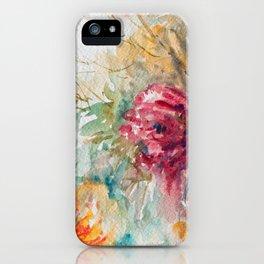 Watercolor Floral Bouquet  iPhone Case