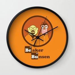beaker bunsen. Wall Clock