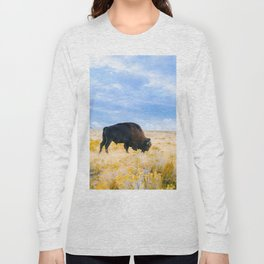 The Great American Bison Long Sleeve T-shirt