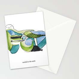 Nestled in the Earth Stationery Cards