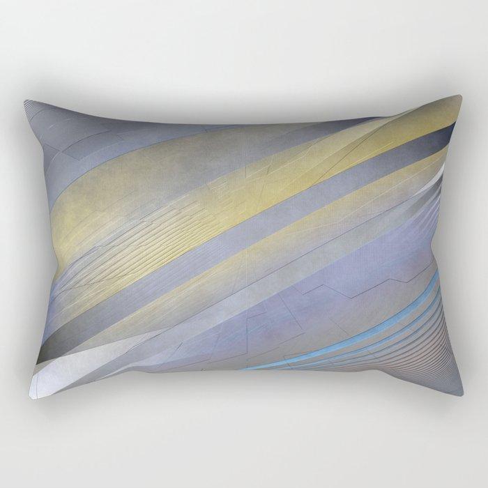 Geometric abstract 2016/003 Rectangular Pillow