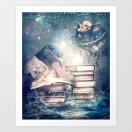 Mystery and Magic Art Print