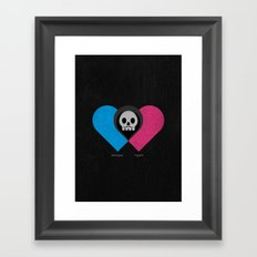 Sweet Sorrow Framed Art Print