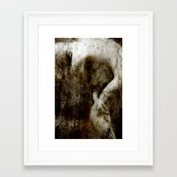 nudes Framed Art Prints featuring Nudes Art by Falko Follert Art-FF77