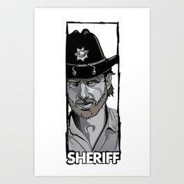Sheriff Art Print