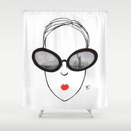 A Few Parisians: Quais de Seine Shower Curtain