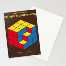 No775 My The Pursuit of Happyness minimal movie poster Stationery Cards