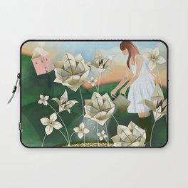 Origami Garden Laptop Sleeve