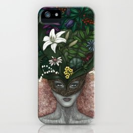 Flower Mask iPhone Case