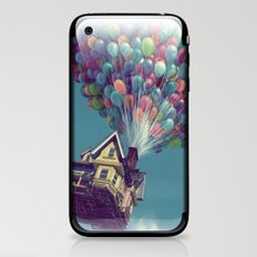 Up, up and away iPhone & iPod Skin