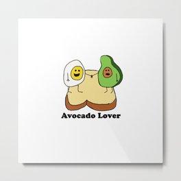 Avocado Lover Metal Print
