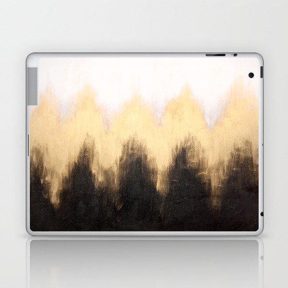 Metallic Abstract Laptop & iPad Skin