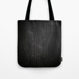Black Wood Texture Tote Bag