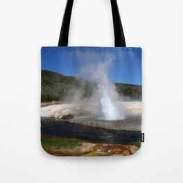 Thermal And Geyser Field Yellowstone NP Tote Bag