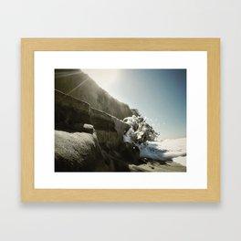 Splash - Encinitas, CA Framed Art Print