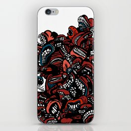 The chattering class  -alt iPhone Skin