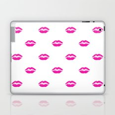 Pink lipstick Laptop & iPad Skin