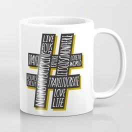 #Travel Coffee Mug