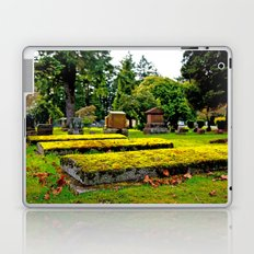 Scenic cemetery Laptop & iPad Skin
