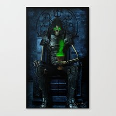 Mythic Occult Series: The Conquering Horseman Canvas Print