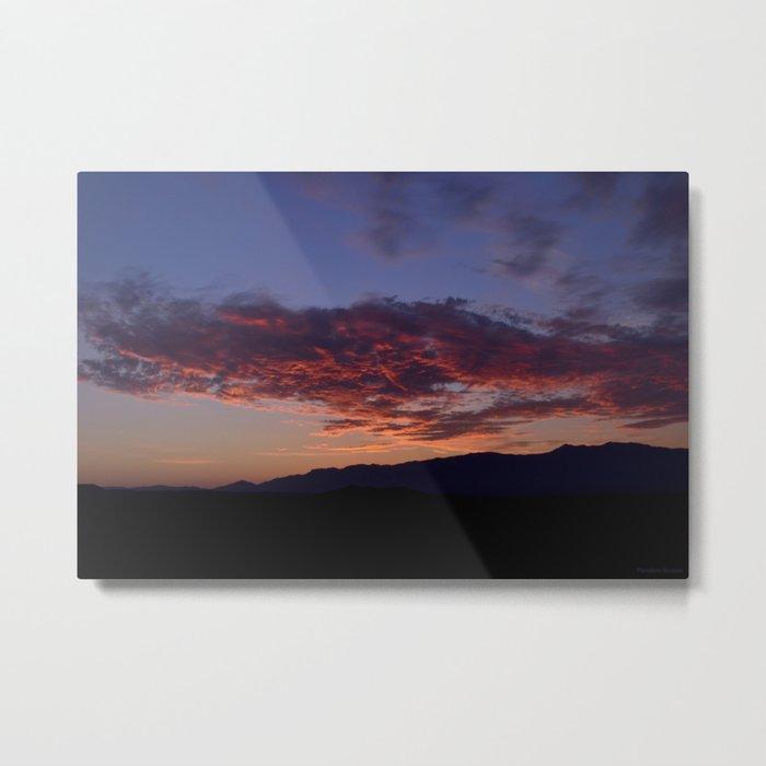 SW Mountain Sunrise - III Metal Print