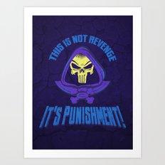 This Time It's Punishment Art Print