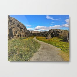 Þingvellir/Thingvellir National Park, Iceland (2) Metal Print
