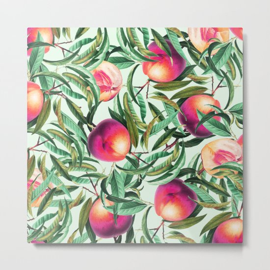 Sweet Peaches #society6 #decor #buyart Metal Print